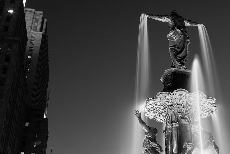 Fountain Square BW.jpg