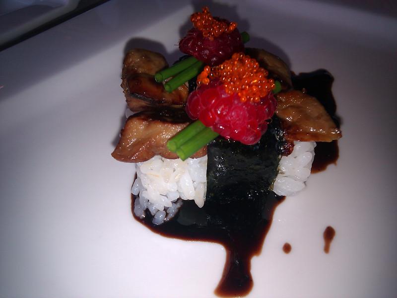 Kabuto Japanese Restaurant - Foie Gras Sushi