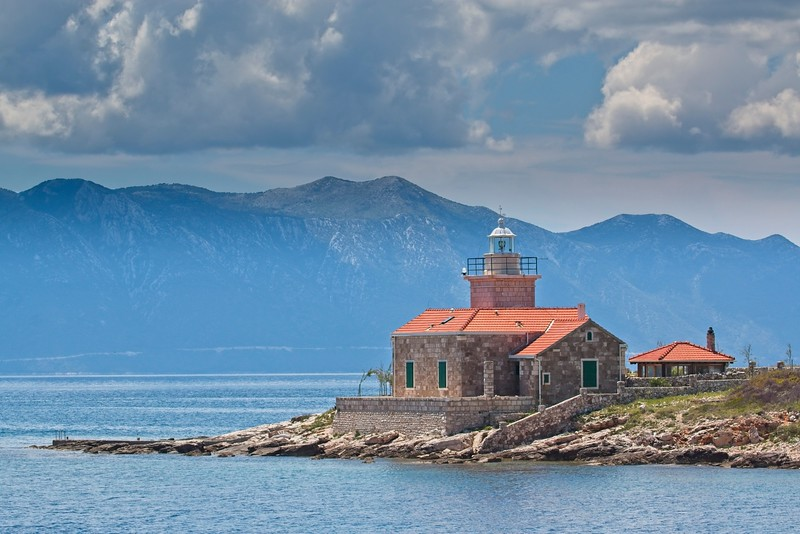 Sućuraj Lighthouse, Croatia