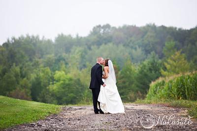 Melissa & Rick {wedding day}