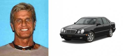 . Gavin Smith, age 57, 6-foot-6, 210 pounds was last seen in a vehicle similar to this Mercedes-Benz.