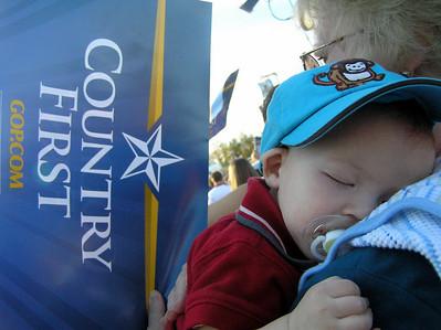 Palin Rally - St. Clairsville