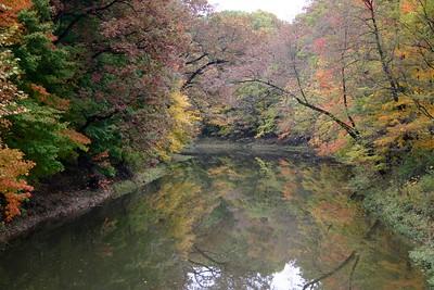 Fall on the Black River, Grafton Ohio