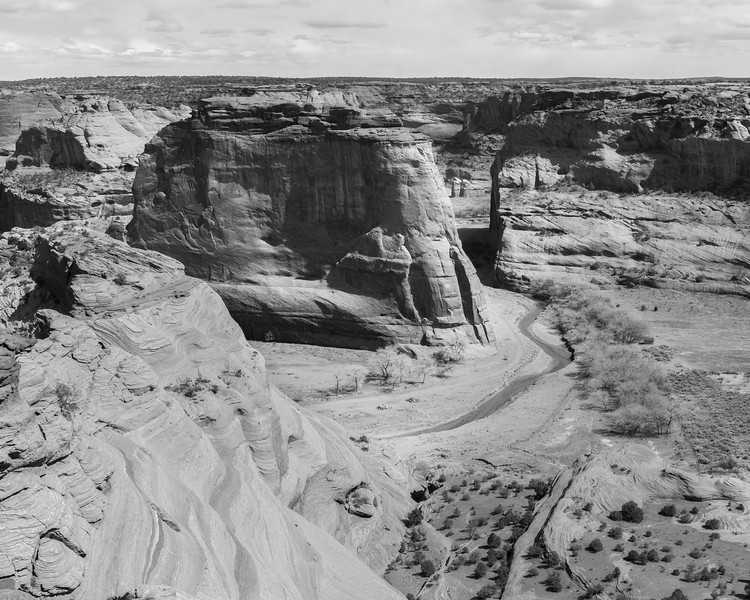 Canyon De Chelly National Monument.  Same spot Ansel Adams took his photo in the early 1940s