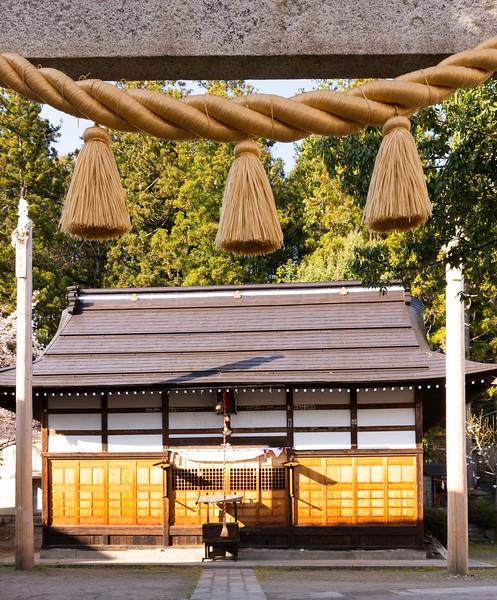 Yumiya Shrine in Yudanaka