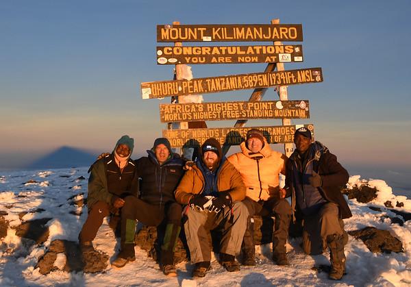 Kilimanjaro October 23-29, 2018