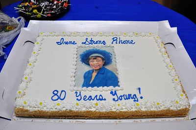 Ms. Irene Strong Rhone's 80th Birthday Celebration and Book Dedication!