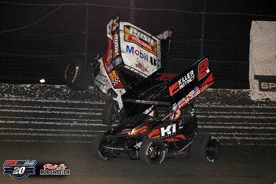 Volusia Speedway Park - World of Outlaws - 2/8/20 - Rob Sweeten