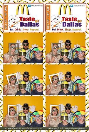McDonald's-Taste of Dallas Sunday