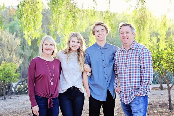 Lukehart Family at Carrillo Ranch 2018