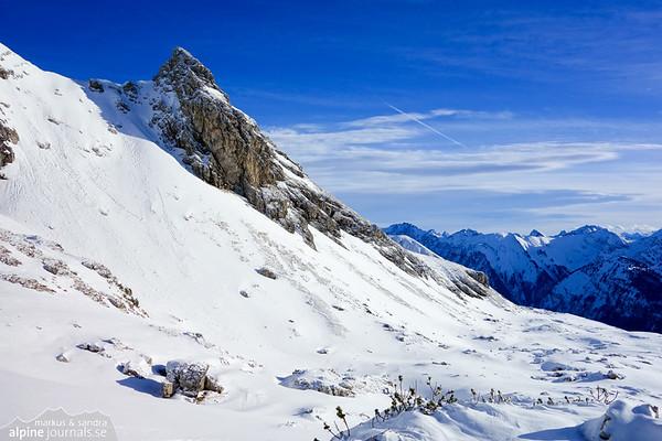 Grosser Daumen ski tour, Allgäu 2014-02-03