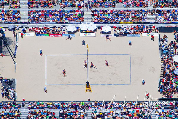 US Open of Surfing and World Series Beach Volleyball