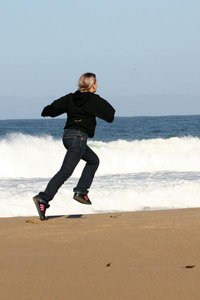 Run more, Katie, run more!