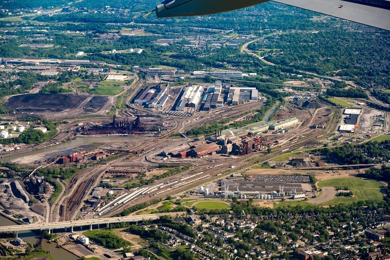 Cleveland steel mills