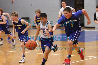 6th Grade AA Varsity vs Barlow