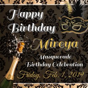 Mireya's Masquerade Party 2019
