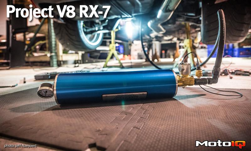 LS3 V8 RX-7 Accusump