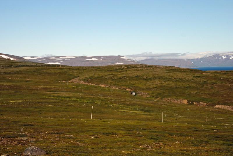 Símastaurar á Sléttuheiði