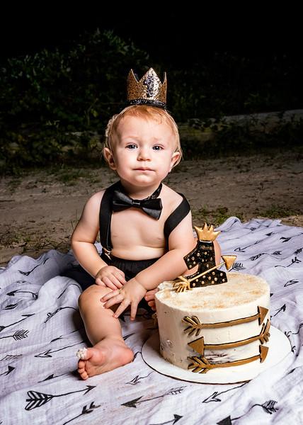 Beck First Birthday