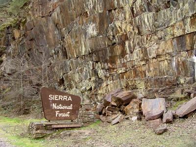 Yosemite area Rock Slide Bridge Project
