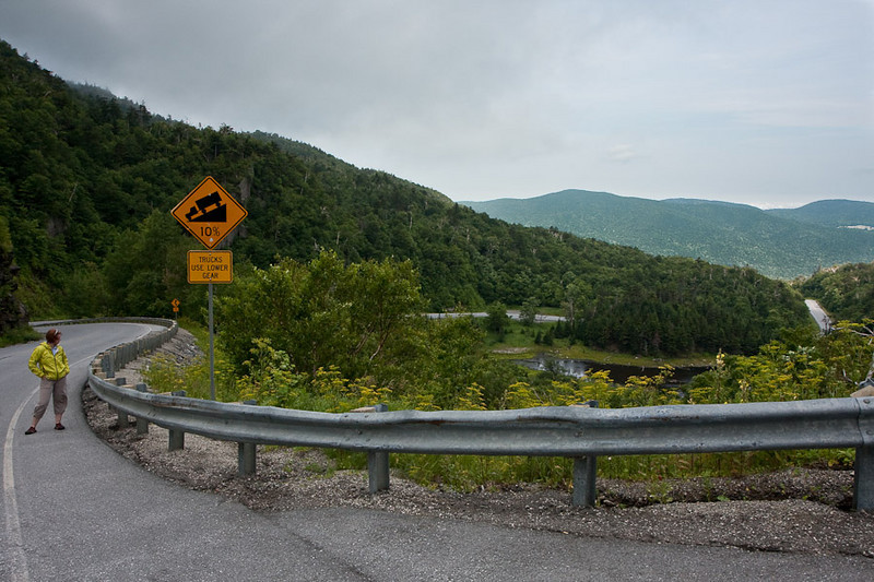 Appalachian Gap is even steeper than it looks - 18% for the last 700 meters .