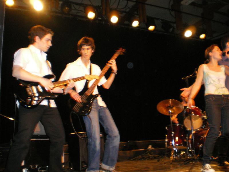 Concert Musiques actuelles 2008