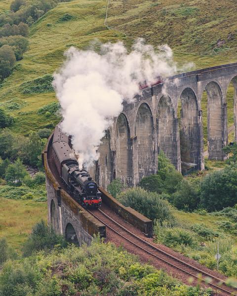 Glenfinnian Steam Train