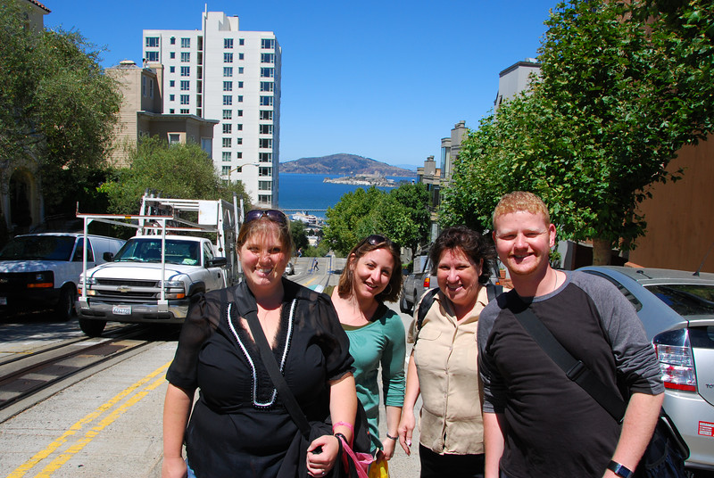 Ginger, Megan, Margo, and Chance.  Yeah standing in the street.  I don't know why.