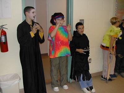 Troop Meeting Halloween Party 2002 (?)