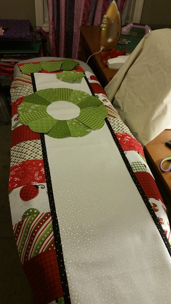 Christmas Bench Pillow