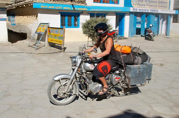 MOTORBIKE IN NEPAL