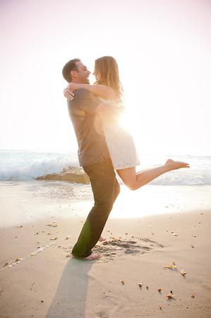 Engagement Photos - Sunset La Jolla PK