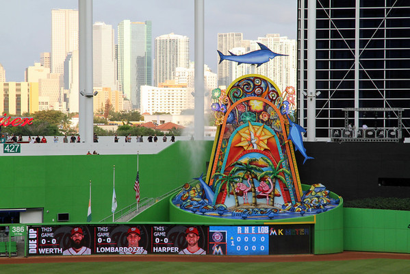 BASEBALL PARKS - MARLINS PARK - MIAMI MARLINS