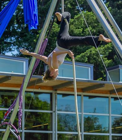 Set eleven, UMO Aerial Show 1 at Ober Park, Vashon Island Strawberry Festival 2019