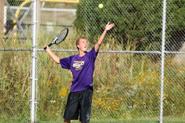 Boys Tennis vs. Sturgis - 9/23/15 - KCHS JV
