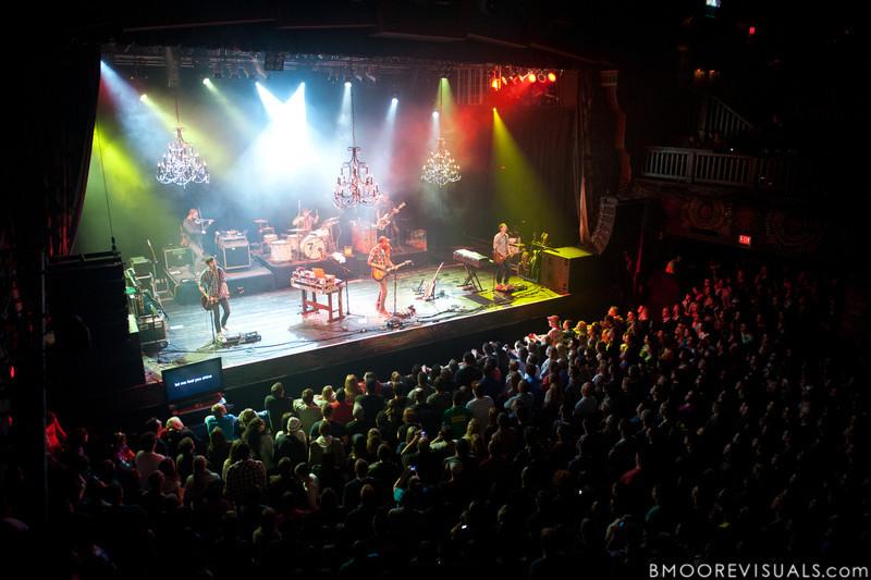of David Crowder Band performs on November 11, 2011 at House of Blues in Orlando, Florida