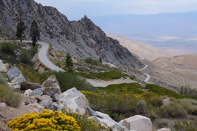 August 18, 2012 Kearsarge Pass - Sierra Nevada Mts