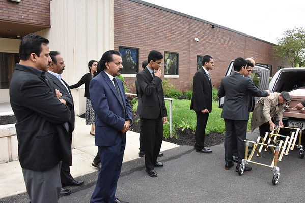 Funeral Service of Santhamma Varkey