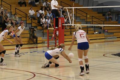 2008 FHS Varsity VB vs Oak Ridge 09-16-08