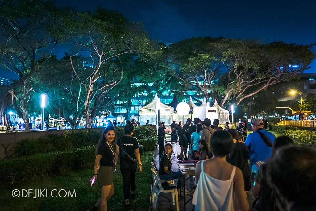 Singapore Night Festival 2018 – Performances / Festival Village Security Check