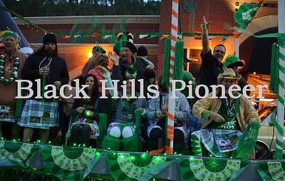 2015 St. Patricks day in Deadwood