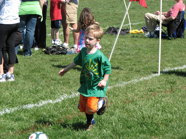 Luke Plays Soccer
