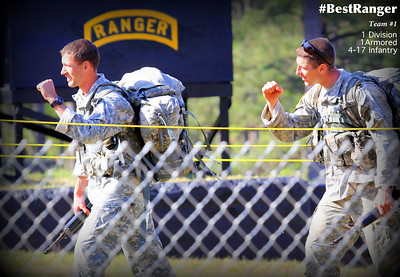 #BestRanger 2014 - Team 1, Ft. Bliss Ready First, 1-1 AD, 4-17. Finished 18th
