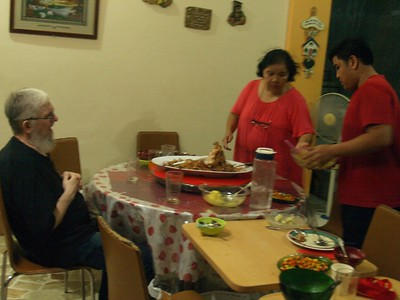 The Wilsons and Palit-Angs annual Thanksgiving dinner
