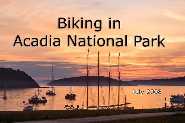 Biking Acadia 2008