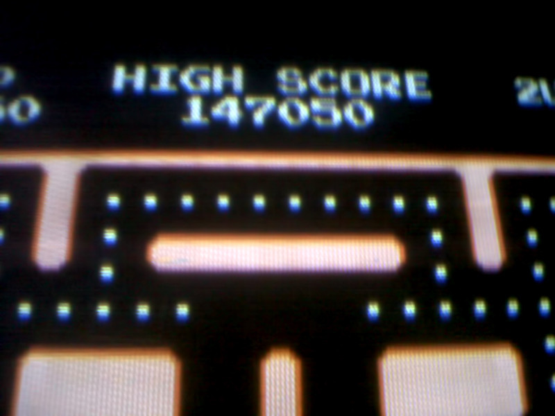 05/06/2012 - My high score on Ms. Pacman @ Pungo Pizza
