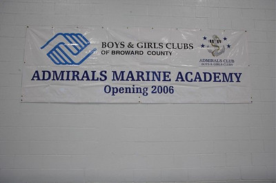 November 9th, 2006 Opening Dedication of The Admiral's Marine Academy