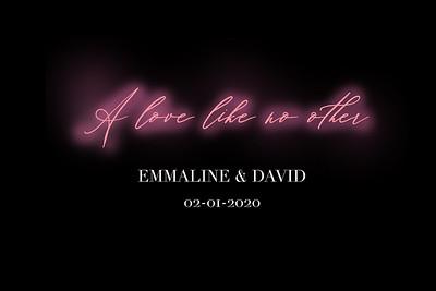 2020-02-01 Emmaline & David