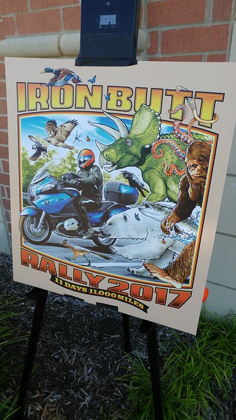 Iron Butt Rally Checkpoint