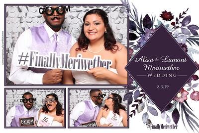 Alisa & Lamont Wedding - 8-3-19